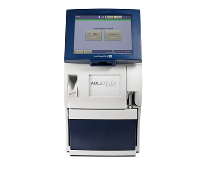 ABL90 FLEX PLUS blood gas analyzer